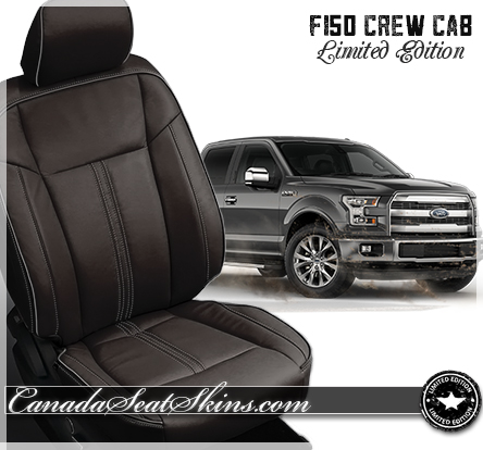 2015 2016 ford f150 limited edition leather upholstery. Black Bedroom Furniture Sets. Home Design Ideas