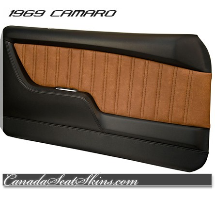 1969 Camaro Tmi Molded Door Panels Sport Series