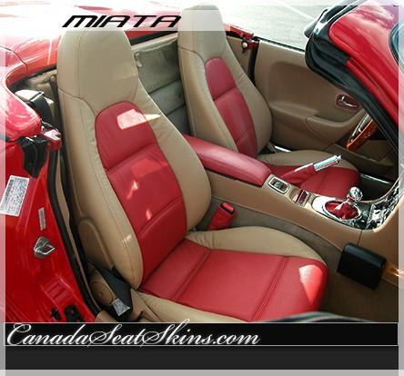 1999 2005 mazda miata custom leather upholstery. Black Bedroom Furniture Sets. Home Design Ideas
