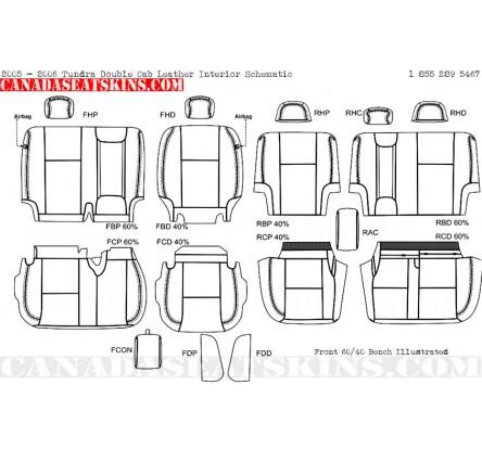 2000 2006 Toyota Tundra Custom Leather Upholstery