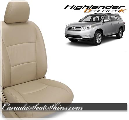 2008 - 2013 Toyota Highlander Leather Seats