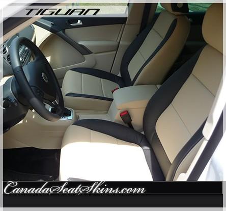 2009 2015 volkswagen tiguan custom leather upholstery. Black Bedroom Furniture Sets. Home Design Ideas