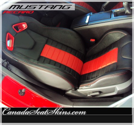 Seat Skins For Trucks >> 2011 - 2014 Ford Mustang Recaro Leather Upholstery