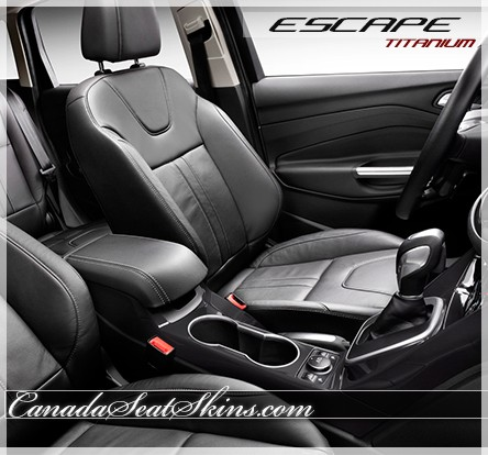 2013 2016 ford escape titanium leather upholstery. Black Bedroom Furniture Sets. Home Design Ideas