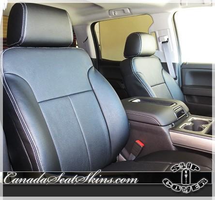 2014 2018 Chevrolet Silverado Clazzio Seat Covers