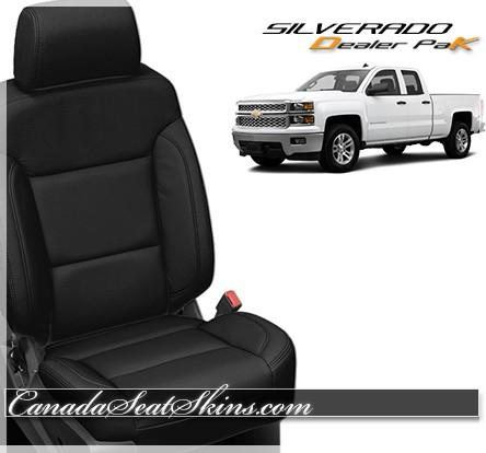 2014 - 2018 Chevrolet Silverado Dealer Pak Leather Seats