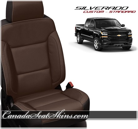 2014 2018 chevrolet silverado custom leather upholstery. Black Bedroom Furniture Sets. Home Design Ideas