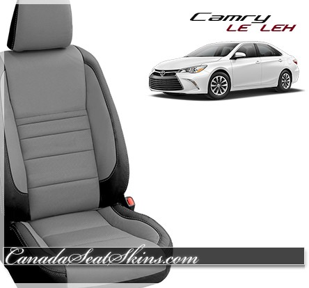 2015 2017 toyota camry le custom leather upholstery. Black Bedroom Furniture Sets. Home Design Ideas