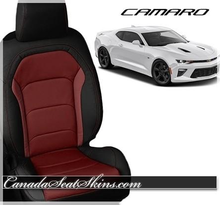 2016 2018 chevrolet camaro leather upholstery. Black Bedroom Furniture Sets. Home Design Ideas