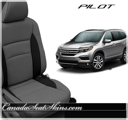 2016 2018 honda pilot custom leather upholstery for Honda pilot seating