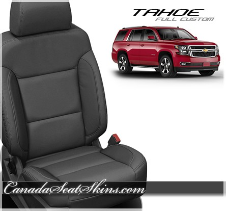 2015 2018 chevrolet tahoe custom leather upholstery. Black Bedroom Furniture Sets. Home Design Ideas