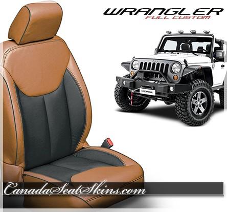 2013 2018 Jeep Wrangler Katzkin Custom Leather Upholstery