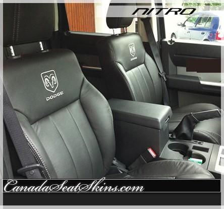 2007 2011 Dodge Nitro Katzkin Custom Leather Upholstery