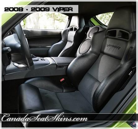 2008 2009 dodge viper custom leather upholstery. Black Bedroom Furniture Sets. Home Design Ideas