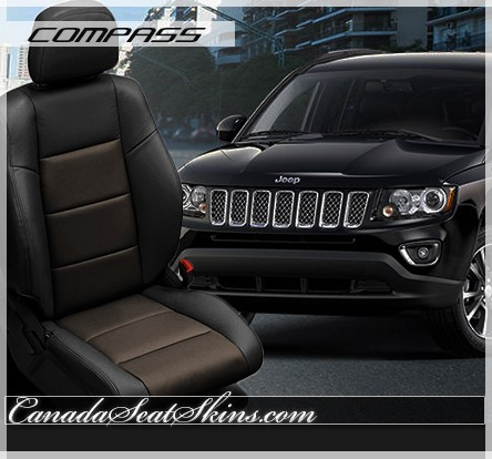 2007 2017 jeep compass custom leather upholstery. Black Bedroom Furniture Sets. Home Design Ideas