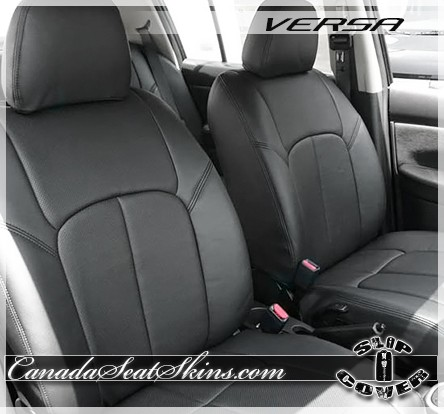 2007 2011 nissan versa clazzio seat covers. Black Bedroom Furniture Sets. Home Design Ideas