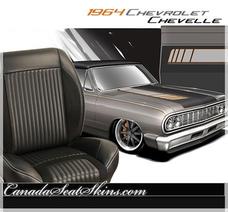 chevelle sport  upholstery  seat foam kit