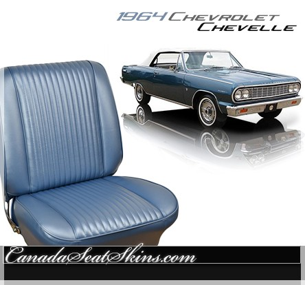 1964 Chevelle Upholstery And Seat Foam Kit