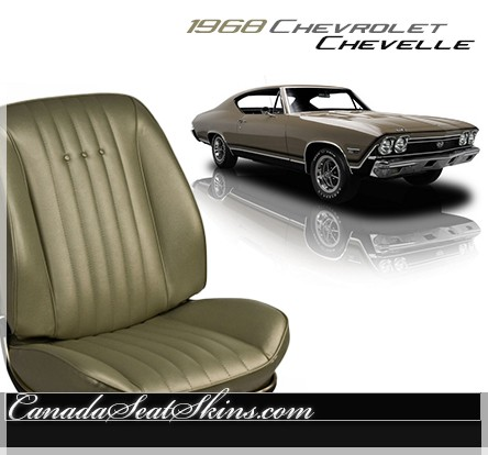 Seat Skins For Trucks >> 1968 Chevelle Upholstery and Seat Foam Kit