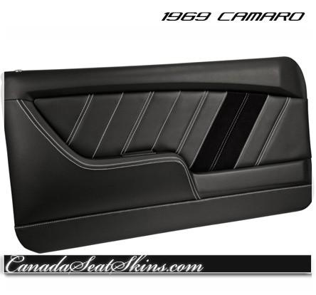 1969 Camaro Sport R Pro Touring Door Panel  sc 1 st  Canada Seat Skins & 1969 Camaro TMI Molded Door Panels Sport Series