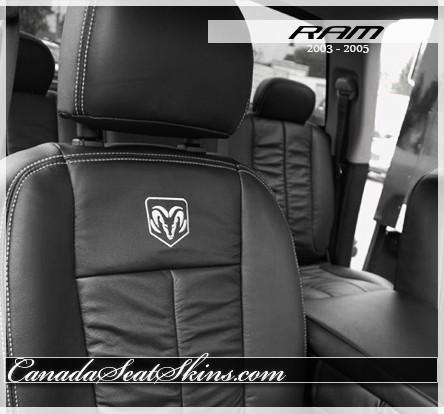 2002 2005 Dodge Ram Custom Leather Upholstery