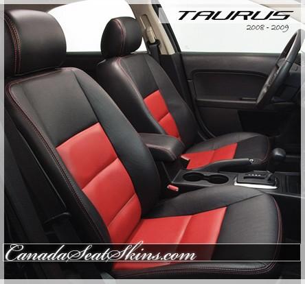 Seat Skins For Trucks >> 2008 - 2009 Ford Taurus Katzkin Leather Upholstery