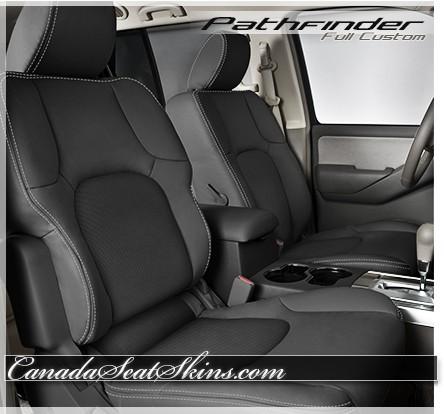 2005 - 2012 Nissan Pathfinder Custom Leather Upholstery