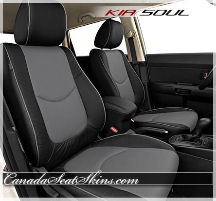 Kia Soul Seat Covers >> 2010 - 2013 Kia Forte Custom Katzkin Leather UpholsterySoul