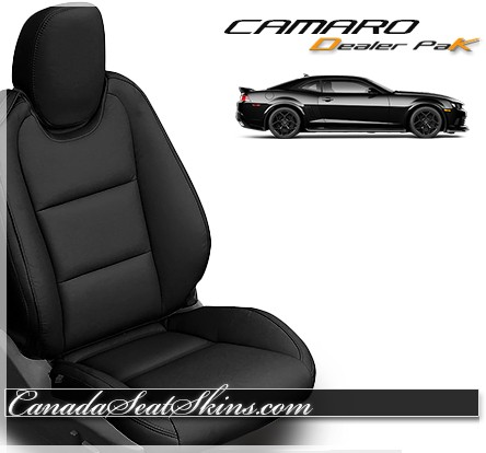 Seat Skins For Trucks >> 2010 - 2015 Chevrolet Camaro Dealer Pak Leather Upholstery Kit