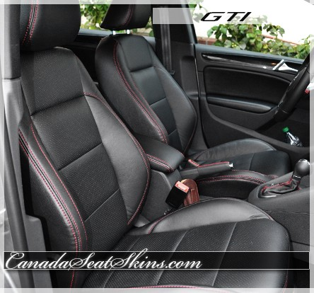 volkswagen gti custom leather upholstery