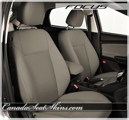 2012 2014 ford focus custom katzkin leather upholstery. Black Bedroom Furniture Sets. Home Design Ideas