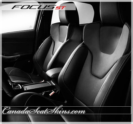 2012 2017 ford focus st katzkin custom leather upholstery. Black Bedroom Furniture Sets. Home Design Ideas