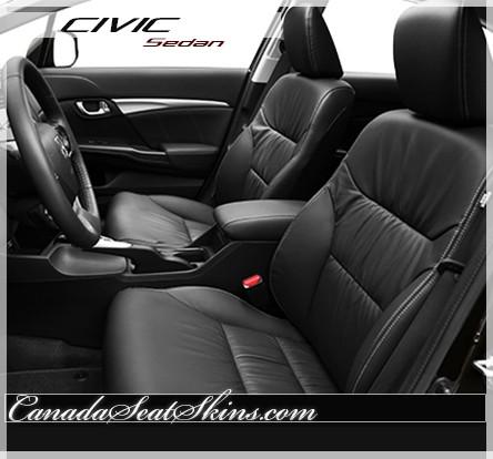 2012 2015 Honda Civic Sedan Leather Upholstery