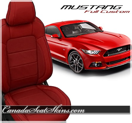 2015 2017 Ford Mustang Custom Leather Upholstery