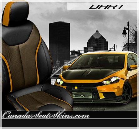 2013 Dodge Dart Limited Edition Leather Upholstery