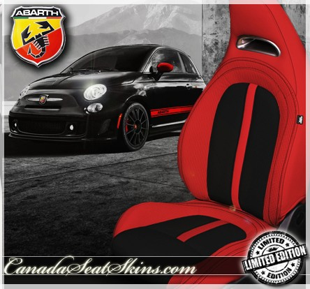 2012 2013 Fiat 500 Abarth Leather Upholstery