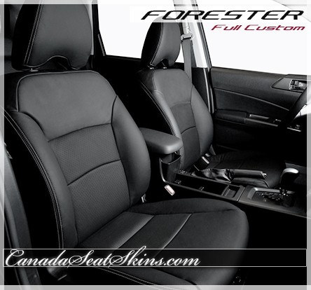 1998 - 2008 Subaru Forester Custom Leather Upholstery