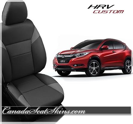 Seat Skins For Trucks >> 2016 - 2017 Honda HRV Custom Leather Upholstery