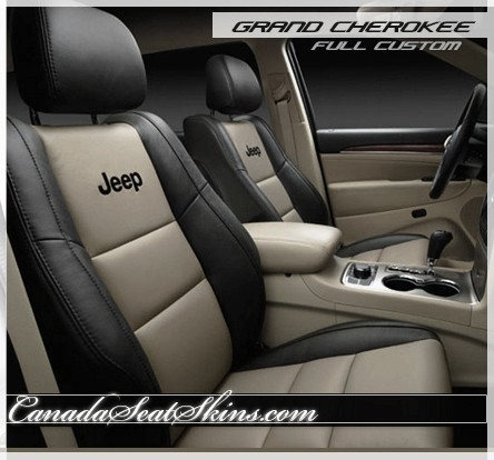 2011 2018 jeep grand cherokee custom leather upholstery. Black Bedroom Furniture Sets. Home Design Ideas