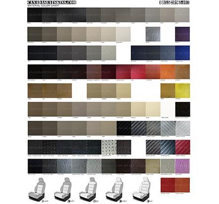 order leather color sample book. Black Bedroom Furniture Sets. Home Design Ideas
