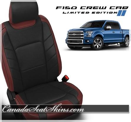 2015 2018 Ford F150 Limited Edition Katzkin Leather Seats