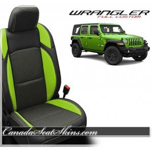 2018 - 2019 Jeep Wrangler Katzkin Leather Seats