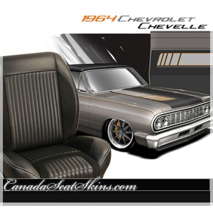 1964 Chevelle Sport R Restomod Seats