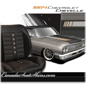 1964 Chevelle Sport XR Restomod Seats