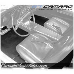 1967 Camaro Custom Carpet and Embroidered Floor Mats