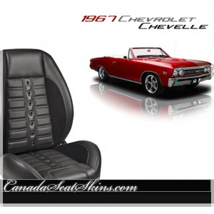 1967 Chevelle Sport XR Restomod Seats