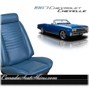 1967 Chevrolet Chevelle Standard Upholstery