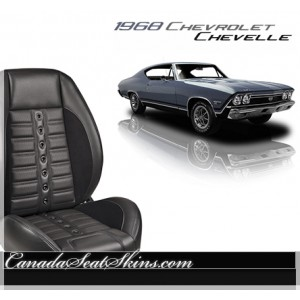 1968 Chevelle Sport XR Restomod Seats