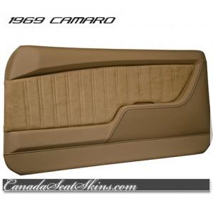 1969 Camaro Restomod Saddle Door Panel Kit