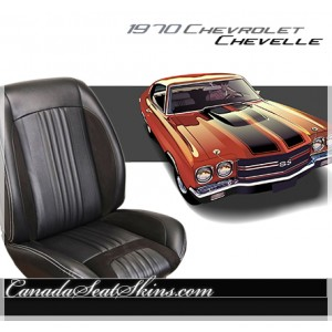 1970 Chevelle Sport R Restomod Seats